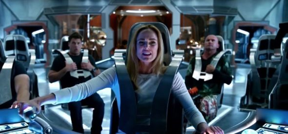 DC's Legends of Tomorrow TV show on The CW: season 5 renewal