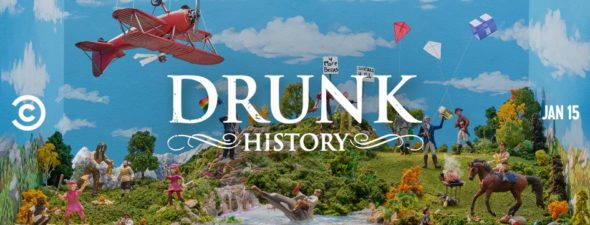 Drunk History TV show on Comedy Central: season 6 ratings (canceled or renewed season 7?)