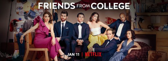 Friends from College TV show on Netflix: season 2 viewer votes (cancel or renew season 3?)