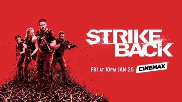 Strike Back TV show on Cinemax: season 7 ratings (canceled or renewed season 8?)