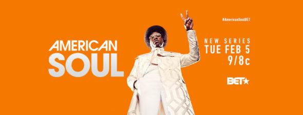American Soul TV show on BET: season 1 ratings (canceled or renewed season 2?)