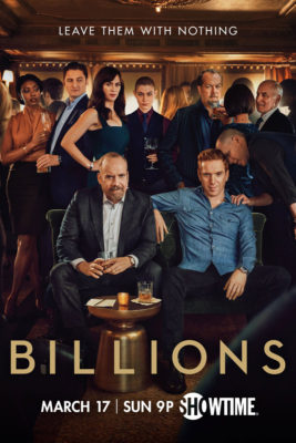 Billions TV show on Showtime: (canceled or renewed?)