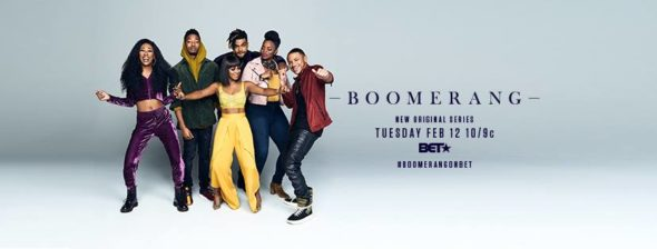 Boomerang TV show on BET: season 1 ratings (canceled or renewed season 2?)