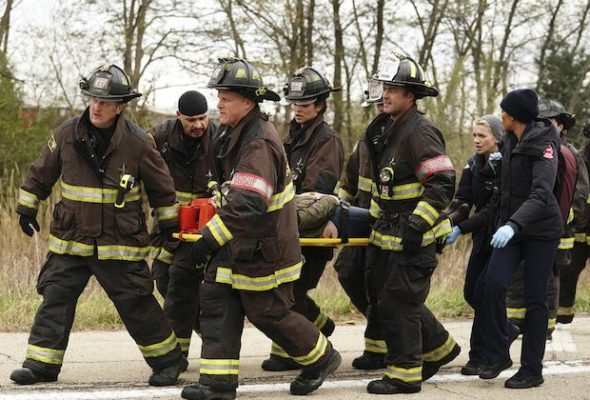 Chicago Fire TV show on NBC: season eight renewal