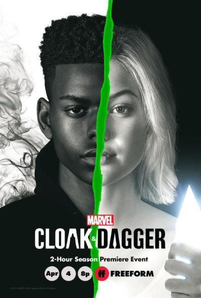 Marvel's Cloak & Dagger TV show on Freeform: season 2 premiere date/release date (canceled or renewed?)