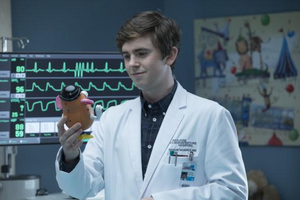 The Good Doctor TV show on ABC: season 3 renewal