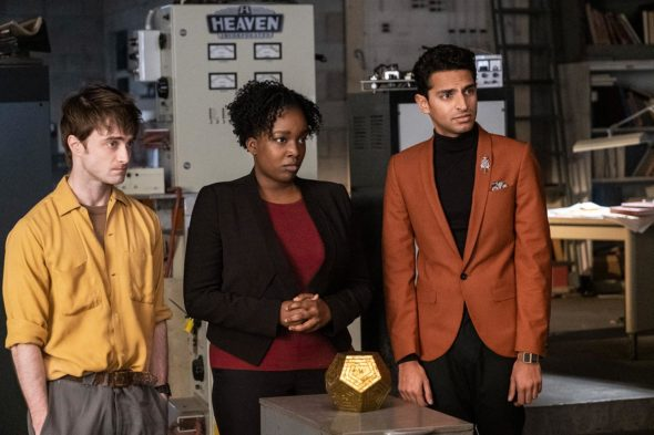 Miracle Workers TV show on TBS: season 1 viewer votes (cancel or renew season 2?)