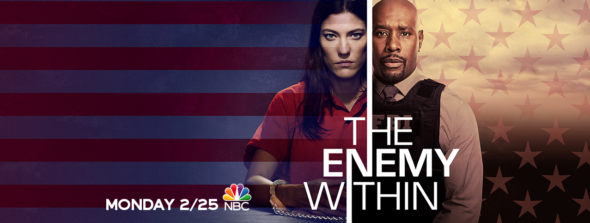 The Enemy Within TV show on NBC: season 1 ratings (canceled or renewed season 2?)