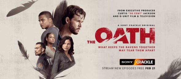 The Oath TV show on Crackle: season 2 viewer votes (cancel or renew season 3?); aka The Oath on Sony Crackle