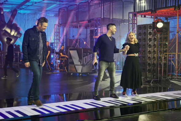The Voice TV show on NBC: season 16 viewer votes (cancel or renew season 17?)