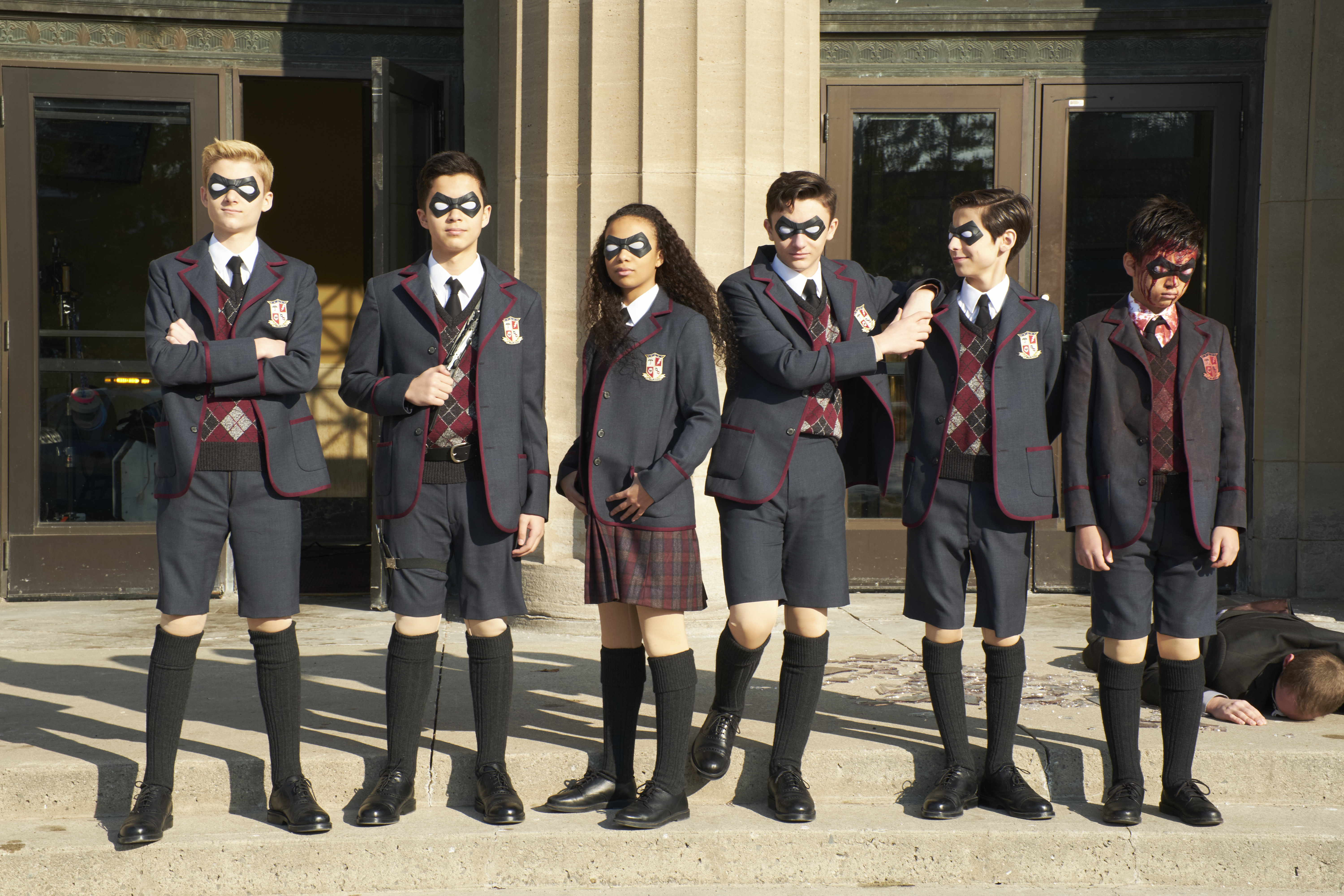 The Umbrella Academy: Live-Action Superhero Series Trailer and