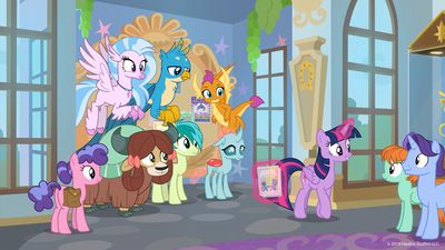 My Little Pony: Friendship Is Magic TV show on Discovery Family (canceled, no season 10)