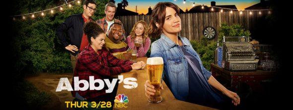 Abby's TV show on NBC: season 1 ratings (canceled or renewed season 2?)