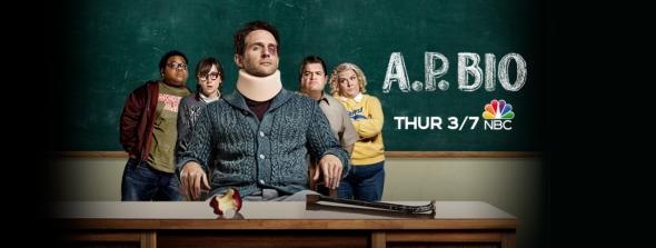AP BIO TV show on NBC: season 2 ratings (canceled or renewed season 3?); A.P. Bio