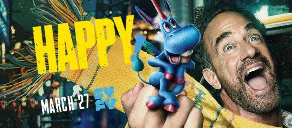 Happy! TV show on Syfy: season 2 ratings (canceled or renewed season 3?)