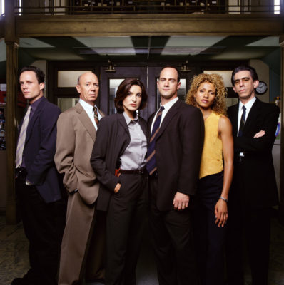 Law & Order: Special Victim's Unit TV show on NBC (season one)