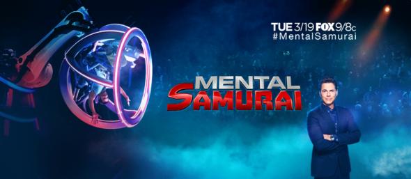 Mental Samurai TV show on FOX: season 1 ratings (canceled or renewed season 2?)