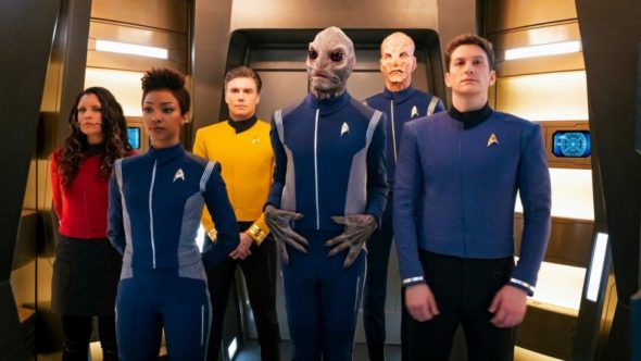 Star Trek: Discovery TV show on CBS All Access: (canceled or renewed?)