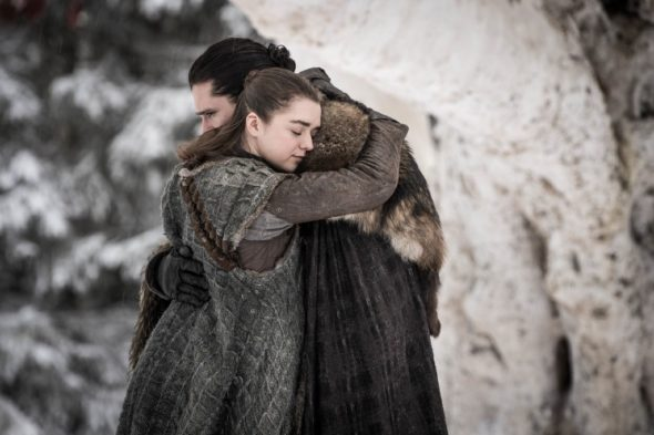 Game of Thrones TV show on HBO: season 8 premiere ratings