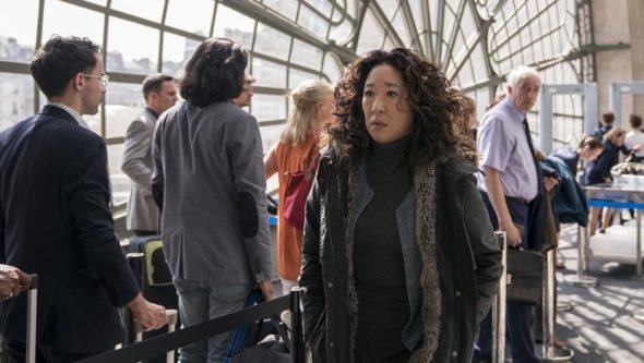 Killing Eve TV show on BBC America and AMC: season 3 renewal