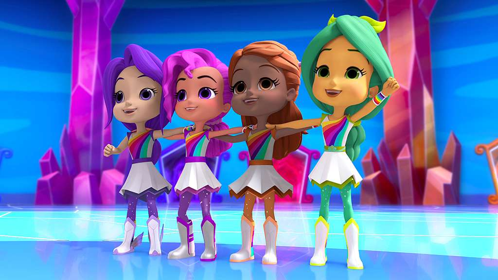 Rainbow Rangers Season Two Renewal Announced For Nick Jr Series Canceled Renewed Tv Shows Tv Series Finale