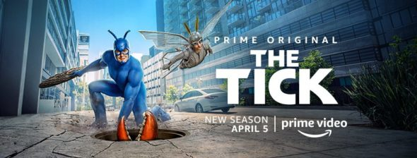 The Tick TV show on Amazon: season 2 viewer votes (cancel or renew season 3?)