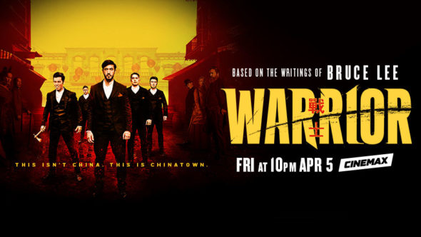 Warrior TV show on Cinemax: season 1 ratings (canceled or renewed season 2?)