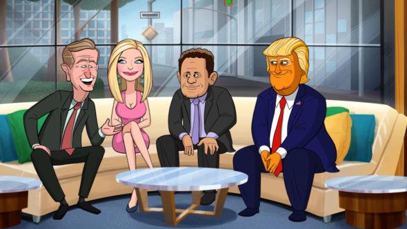 Our Cartoon President TV show on Showtime: season 2 viewer votes (cancel or renew season 3?)