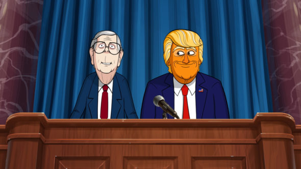Our Cartoon President TV show on Showtime: canceled or season 3? (release date); Vulture Watch