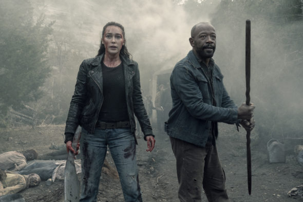 Fear the Walking Dead TV show on AMC: season 5 viewer votes (cancel renew season 6?)
