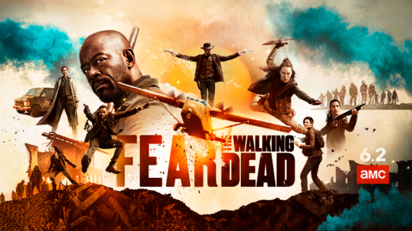 Fear the Walking Dead TV show on AMC: season 5 ratings (canceled renewed season 6?)