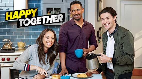 Happy Together TV show on CBS: canceled, no season 2