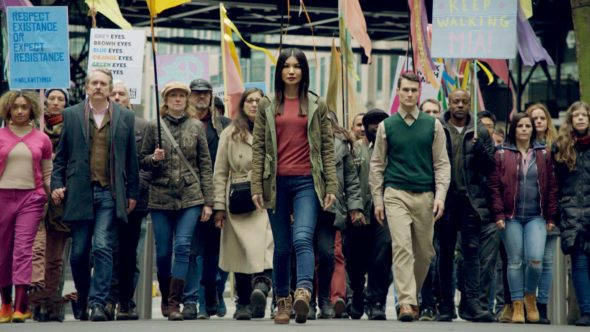 Humans TV show on AMC; cancelled, no season four