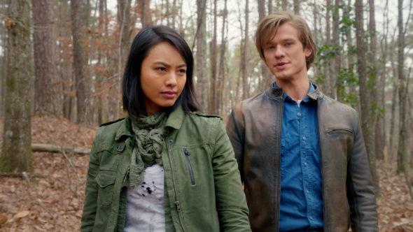 MacGyver TV show on CBS; season four renewal
