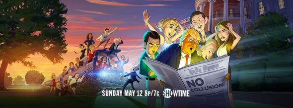 Our Cartoon President TV show on Showtime: season 2 ratings (canceled or renewed season 3?)