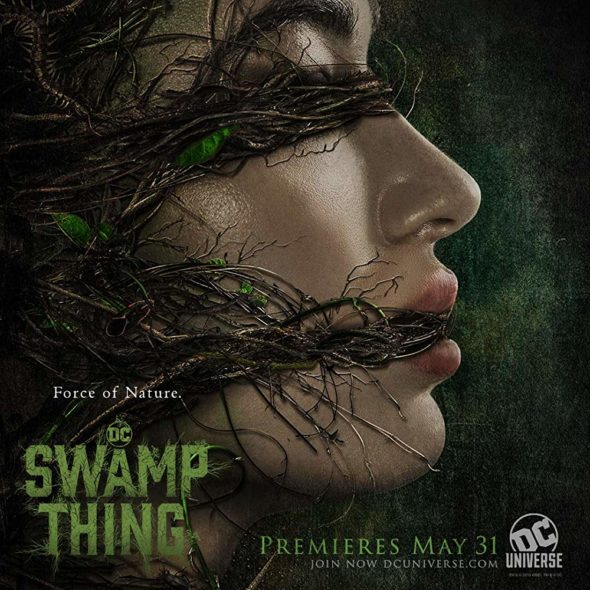 Swamp Thing TV show on DC Universe: season 1 viewer votes (cancel renew season 2?)