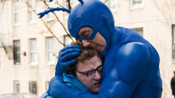 The Tick TV show on Amazon Prime: canceled, no season 3