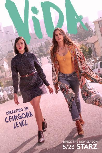 Vida TV show on Starz: season 2 viewer votes (cancel renew season 3?)