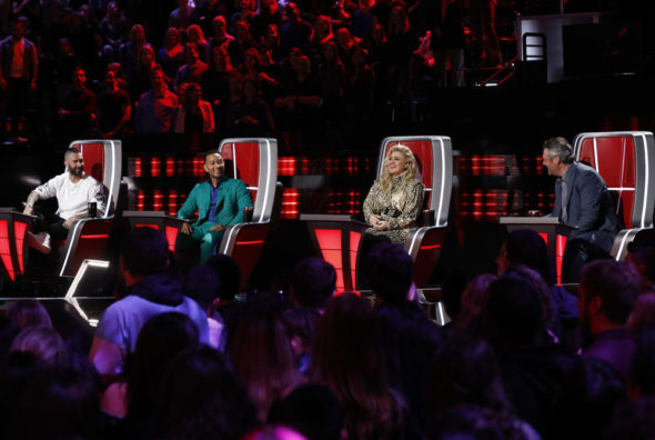 The Voice TV show on NBC: renewed for season 17 for the 2019-20 season