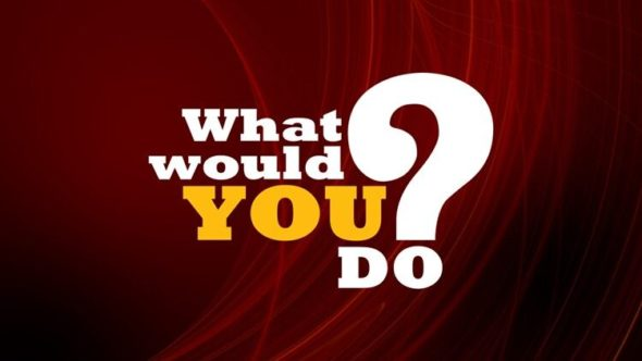 What Would You Do? TV show on ABC: summer 2019 ratings (canceled or renewed?)