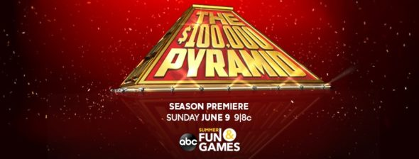 THE $100,000 PYRAMID TV show on ABC: season 4 ratings (canceled or renewed season 5?)