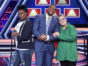 THE $100,000 PYRAMID TV show on ABC: season 3 viewer votes (cancel or renew season 4?) Pictured: LESLIE JONES, MICHAEL STRAHAN, ROSIE O'DONNELL