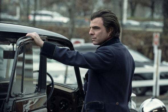NOS4A2 TV show on AMC: canceled or season 2? (release date); Vulture Watch; Pictured: Zachary Quinto as Charlie Manx