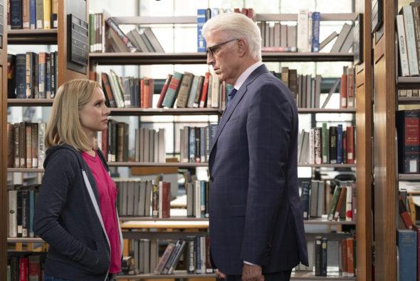 The Good Place TV show on NBC: ending with season 4 (canceled, no season 5)