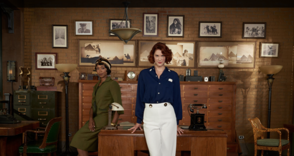 Frankie Drake Mysteries TV show on Ovation: canceled or renewed for another season?