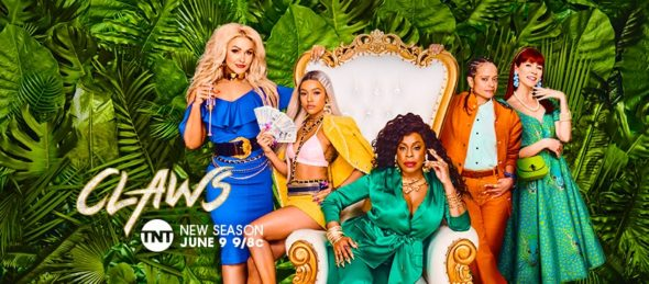 Claws TV show on TNT: season 3 ratings (canceled or renewed season 4?)