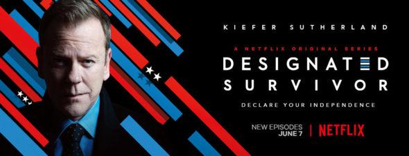 Designated Survivor TV show on Netflix: season 3 viewer votes (cancel or renew season 4?)