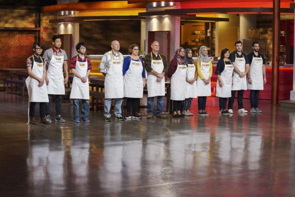 Family Food Fight TV show on ABC: season 1 viewer votes (cancel renew season 2?)