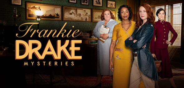 Frankie Drake Mysteries TV show on Ovation: season 1 viewer votes (cancel or renew season 2?)