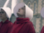 The Handmaid's Tale TV show on Hulu: season 3 viewer votes (cancel or renew season 4?); Pictured: Elizabeth Moss as June / Offred